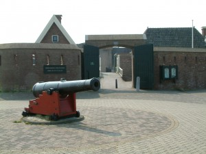 Entrance Fortress Kijkduin