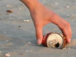 klacht schoon strand